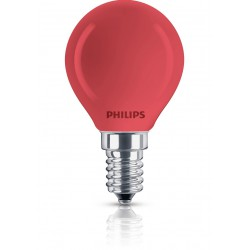 Philips Incand. colored blown refl. la Lámpara incandescente